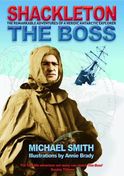 Shackleton The Boss Children's book