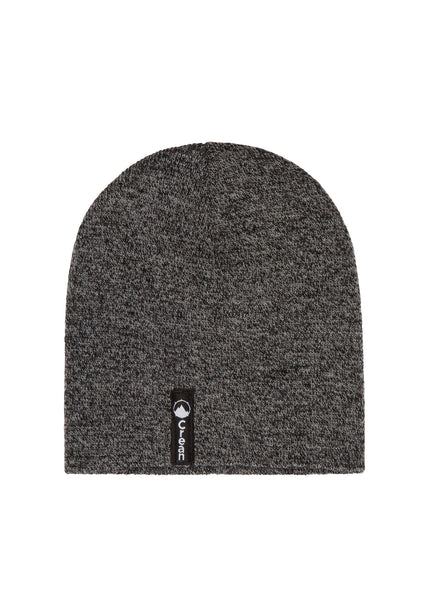Grey Rock beanie hat