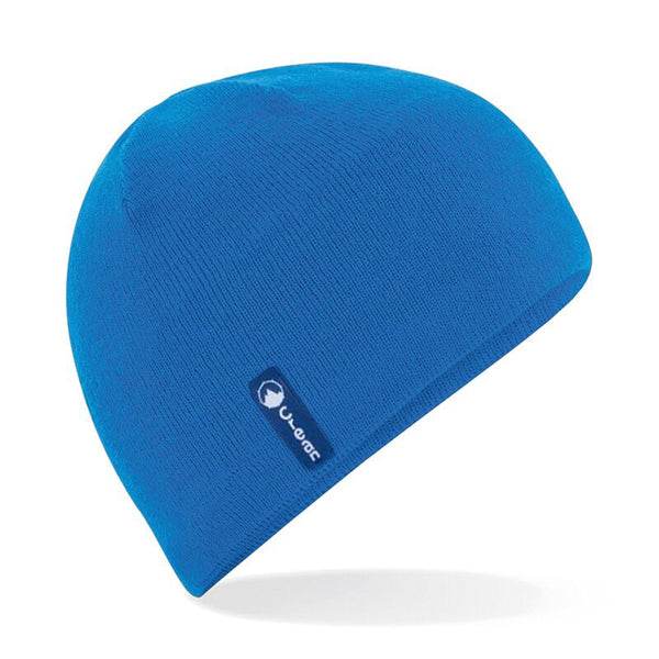 Action Beanie Blue Wool Mix