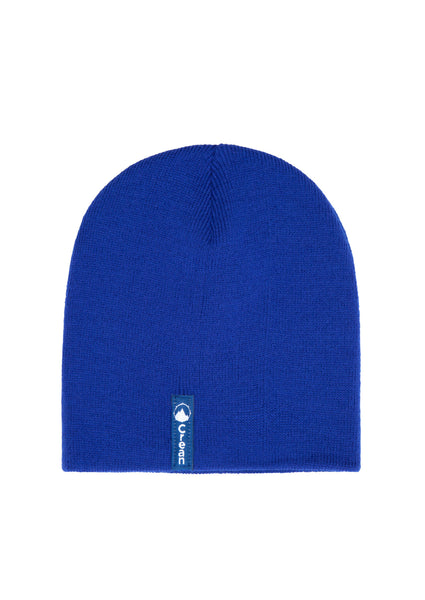 Blue Rock beanie hat