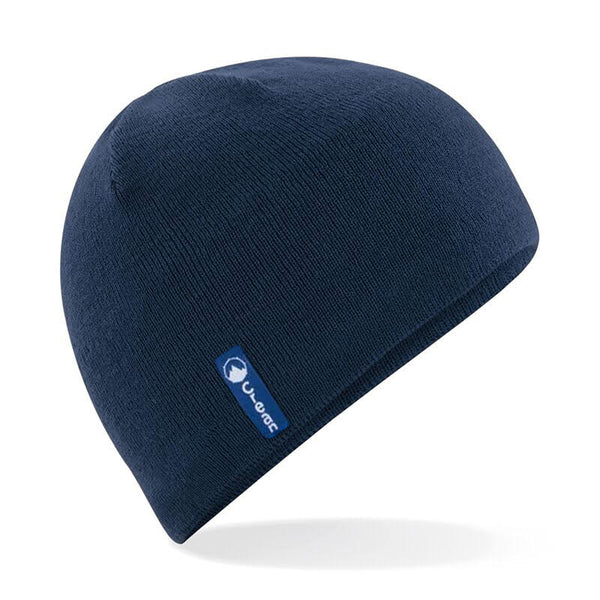 Action Beanie Navy  Wool mix