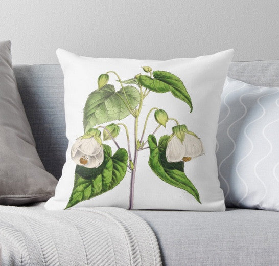 Cushion - FF - Abutilion - The Floral magazine