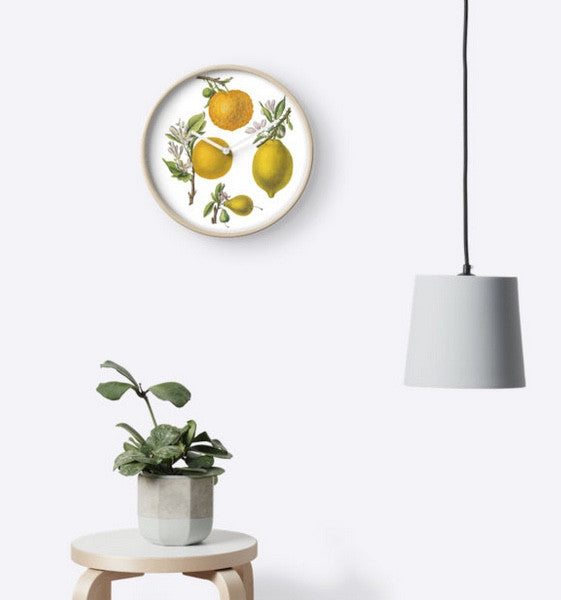 Clock - FF - Citrus and Oranges - Clock