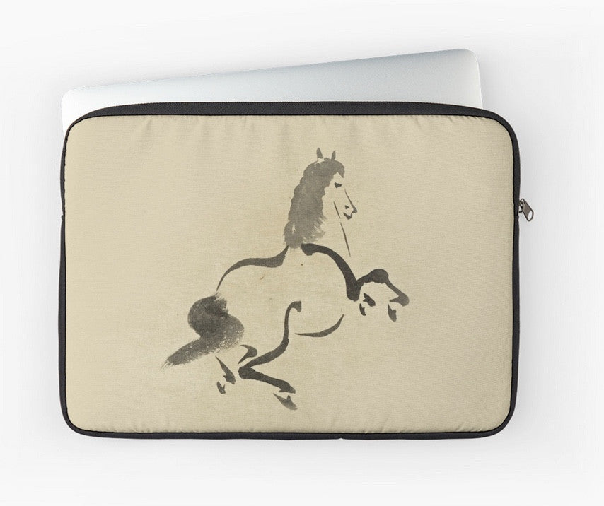Laptop Sleeve - Japan Print - Uma - Horse
