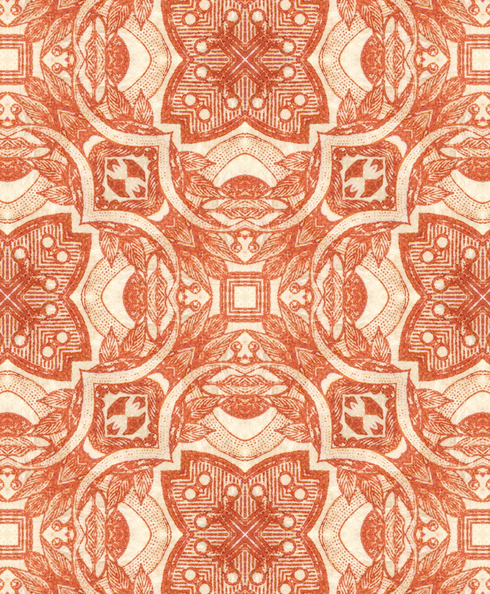 Cushion - Kaleidoscope - Stamp7 - detail