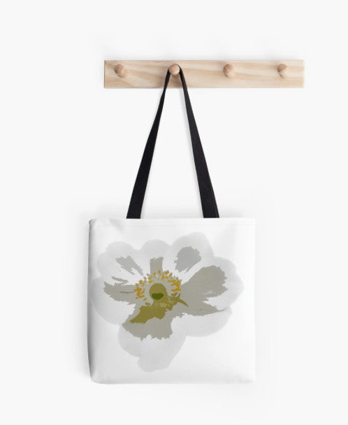 Tote Bag - FF - ANEMONE GRAPHICAL