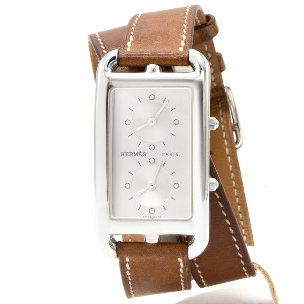 Hermès montre Cape Cod Dual Time CC3.510
