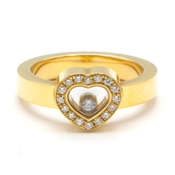 Chopard ring Happy Diamonds 18K
