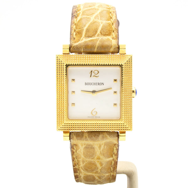 Boucheron 18K watch