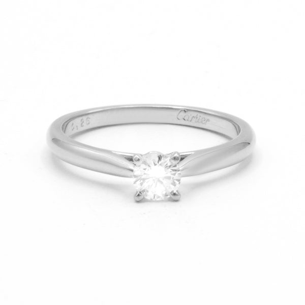 Cartier Solitaire ring Size 50