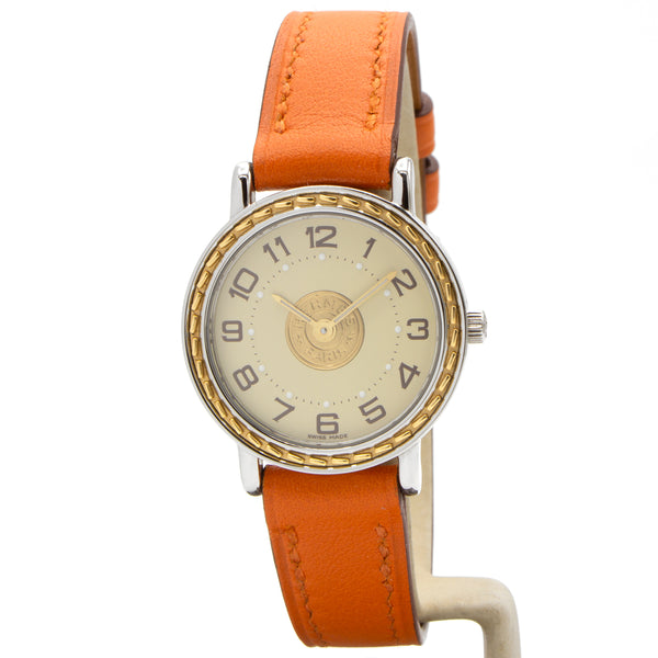Hermes Sellier 24mm watch