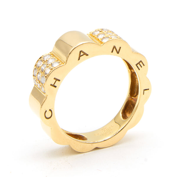 Chanel Profil ring Sz 50