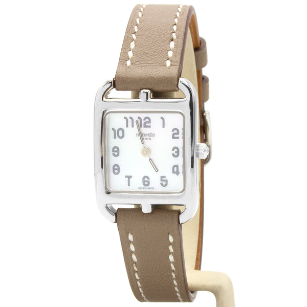 Hermes Cape Cod CC1.190 18K white gold watch