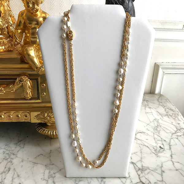 Chanel Baroque necklace