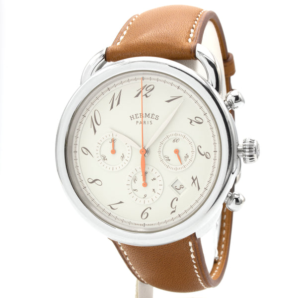 Hermes Arceau AR4.910 chrono watch