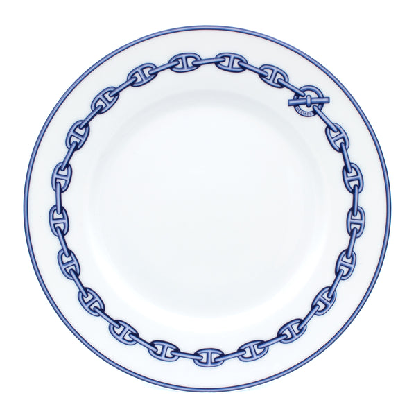 Hermes Chaine d'Ancre plate 22,5 cm