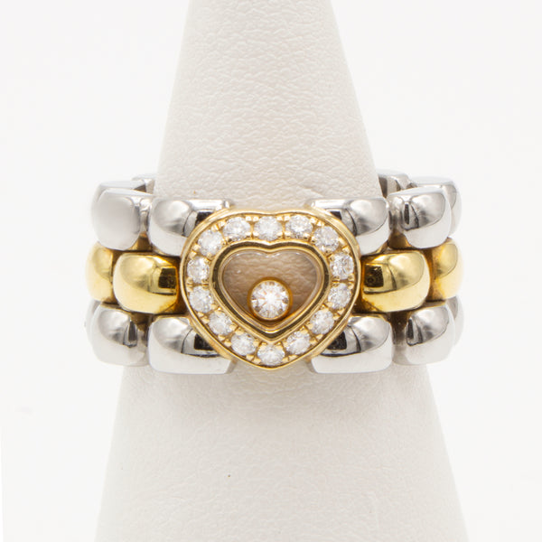 Chopard Happy Diamonds ring Size 53