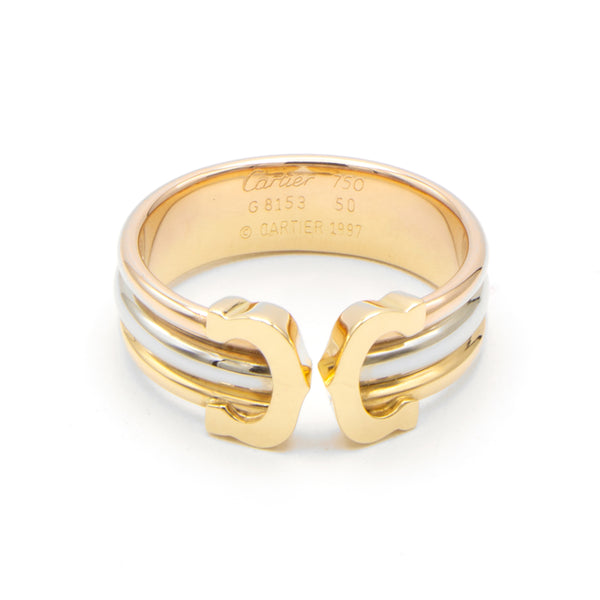 Cartier Double C ring S 49.5