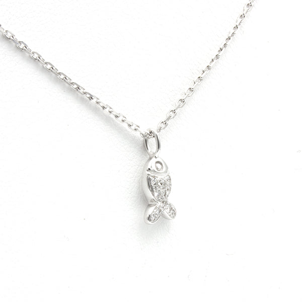 Chopard Happy Fish necklace