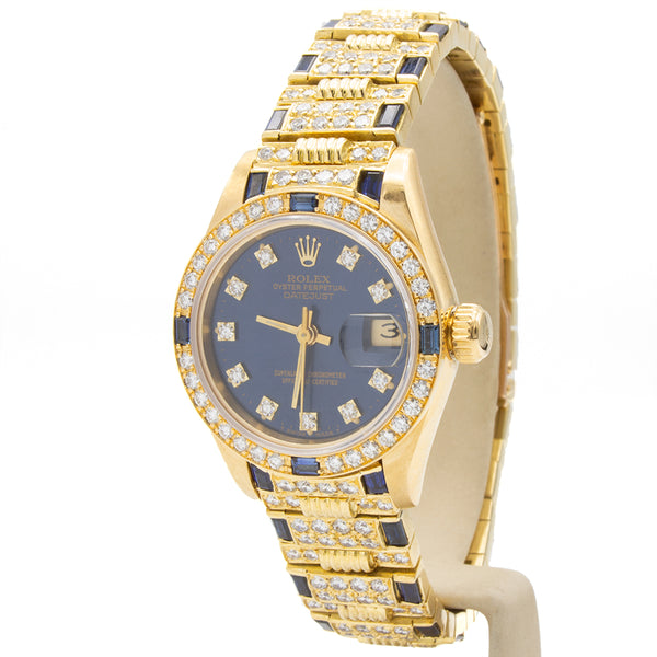 Rolex montre Datejust 18K