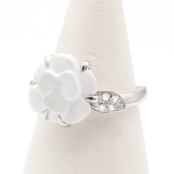 Chanel Camelia diamonds ring