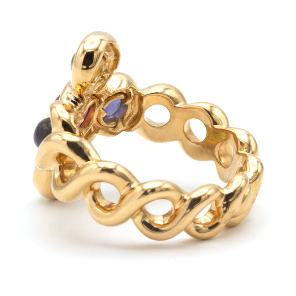 Chanel yellow gold ring