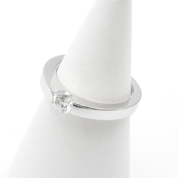 Cartier Solitaire ring Sz 53