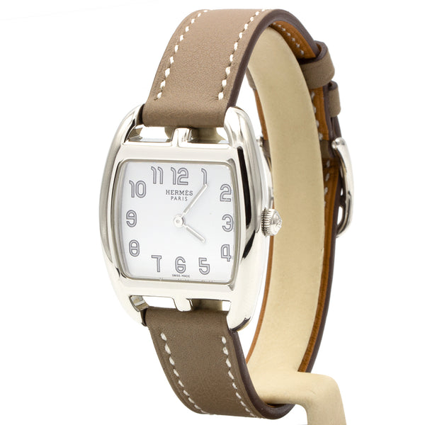 Hermes watch Cape Cod Tonneau