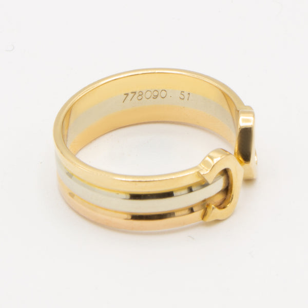 Cartier bague Double C Sz 51