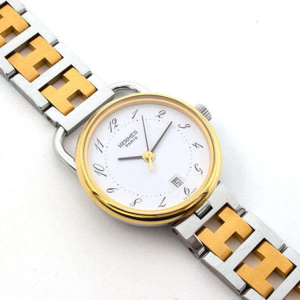 Hermes Arceau 25mm watch