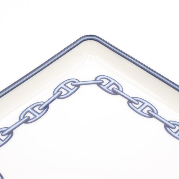 Hermes Chaine D'Ancre Porcelain Tray