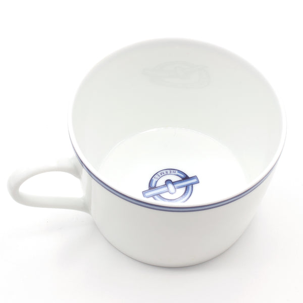 Hermes Chaine d'Ancre porcelain tea sets cups