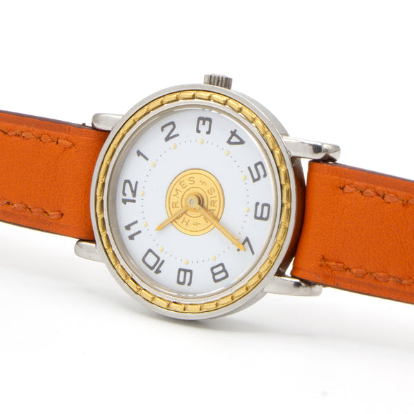 Hermès Sellier 24mm watch