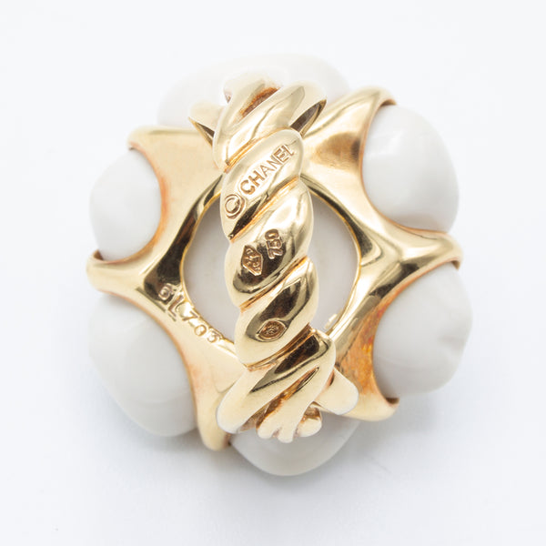 Chanel Camélia ring
