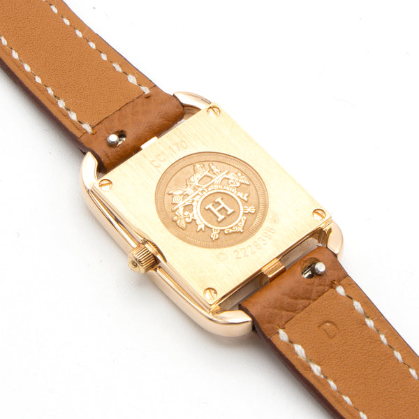 Hermès Cape Cod CC1.170 pink gold 18K watch