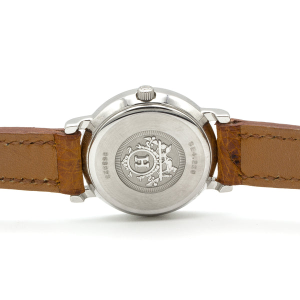 Hermes watch sellier 24mm