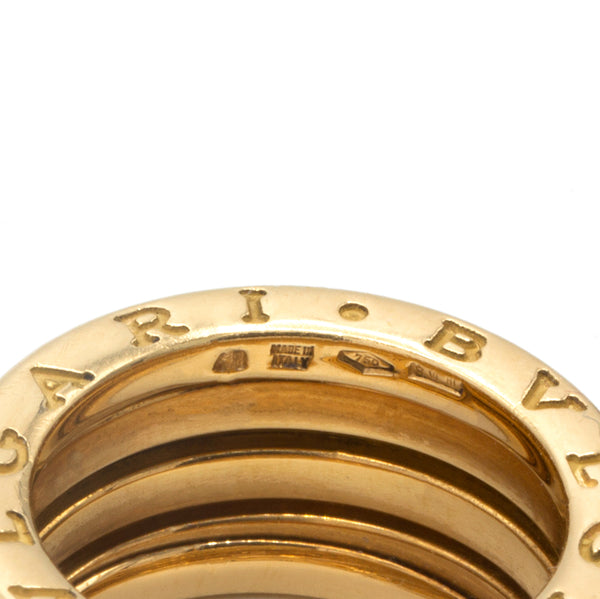 Bulgari B.Zero 1 yellow gold ring
