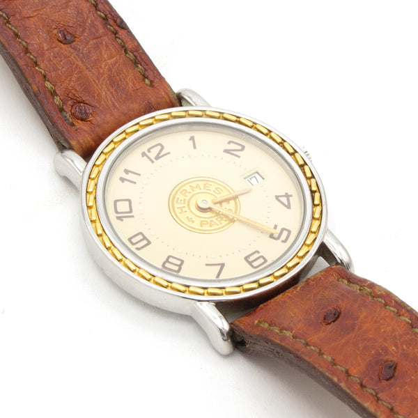 Hermès Sellier 27mm watch