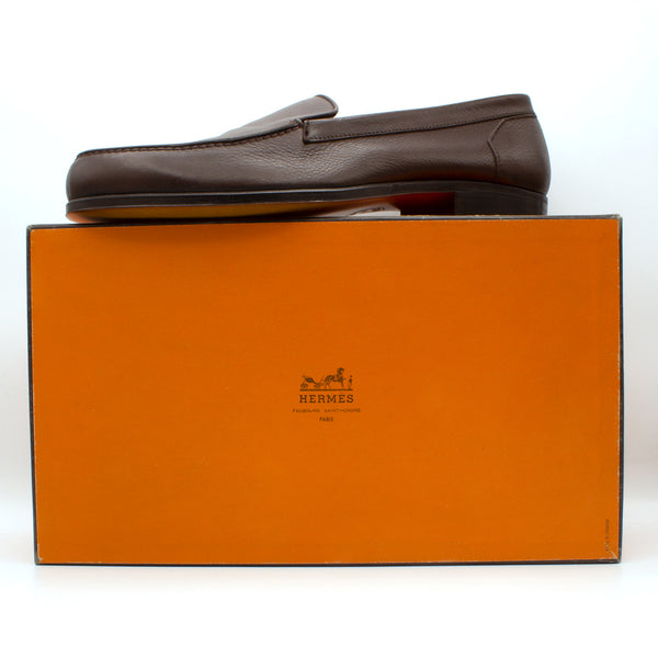 Hermes mocassins shoes