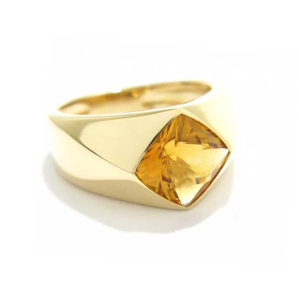 Chanel citrine ring
