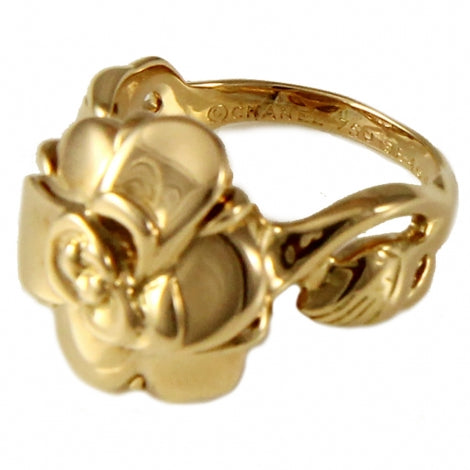 Chanel Camelia Ring 18K