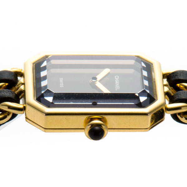 Chanel Premiere 18K Plated Gold Watch