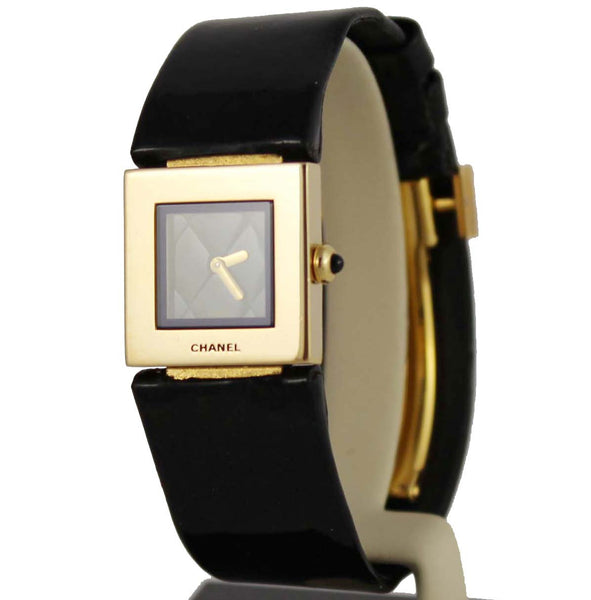 Chanel 18K Matelasse Watch