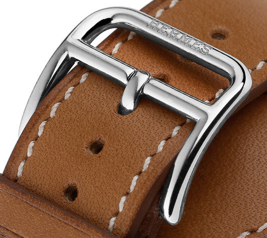 Hermes Cape Cod Watch GM Barenia Leather