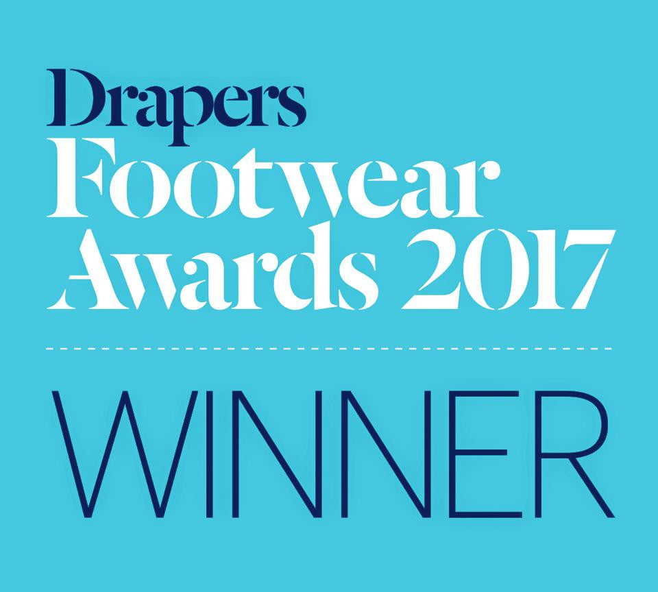 "Sizers win ""Best Innovation in Footwear"" at the Drapers Footwear Awards 2017!"