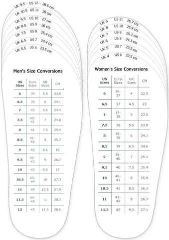 This is an image of Shoe Size Template Printable within youth