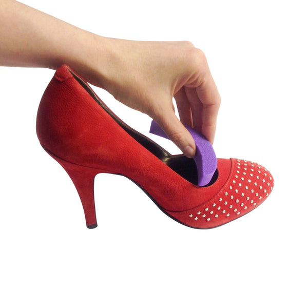 Round-Toe Shoe Sizing Inserts (1/2 Sizers (Purple))