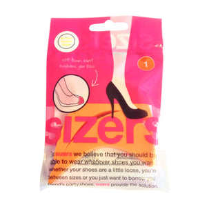 Pointed Shoe Sizing Inserts (1 Sizers (Orange))