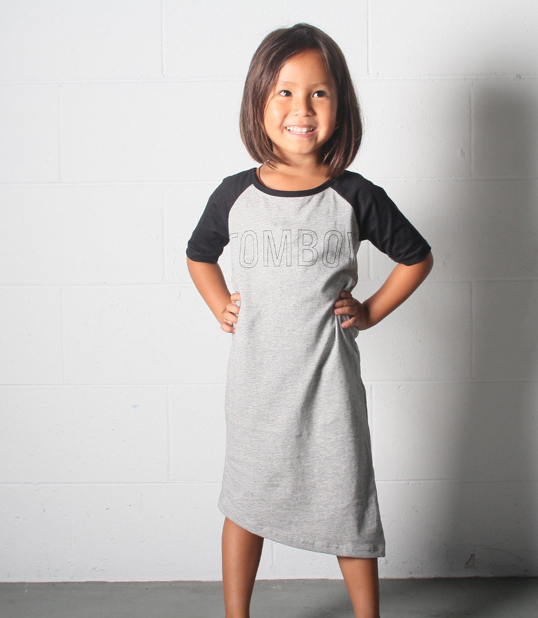 Tomboi Raglan Dress