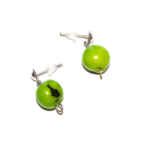 Acai Berry Earrings Green